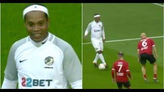 freekickerz ft. Ronaldinho vs All Star Legends (Real Football Match)