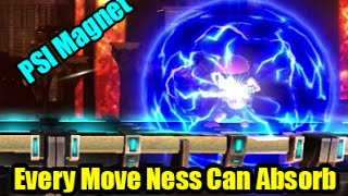 Every Move Ness Can Absorb in Super Smash Bros Wii U (Guide)