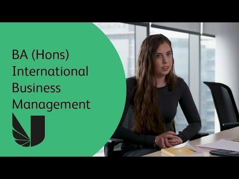BA (Hons) International Business Management at the University of West London
