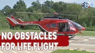Crosby completes new  Life Flight helipad