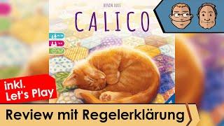 Calico – Brettspiel – Review und Regelübersicht