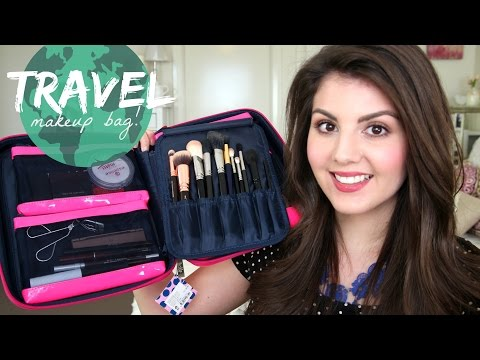 What's in my Travel Makeup Bag! (+ Travel Makeup Case Review)