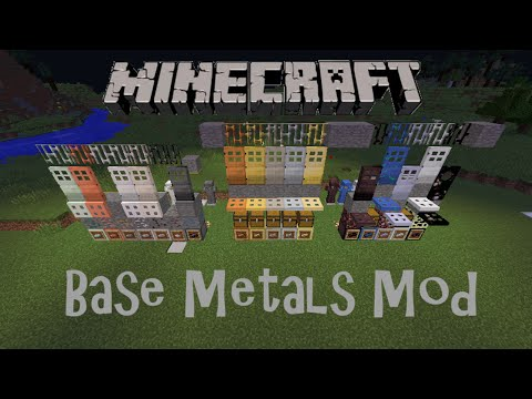 Minecraft: Mod Showcase- Base Metals Mod