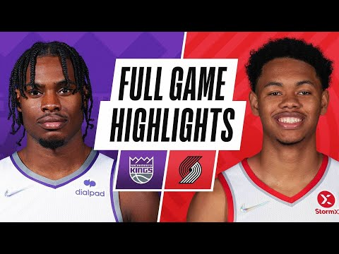 Portland Trail Blazers vs Sacramento Kings</a> 2021-10-12