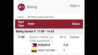 Breaking New! Nesthy Petecio panalo sa women's boxing quarter finals | pasok na sa semi finals