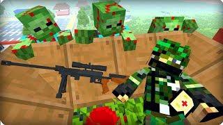 Откуда взялся этот снайпер? [ЧАСТЬ 30] Зомби апокалипсис в майнкрафт! - (Minecraft - Сериал)