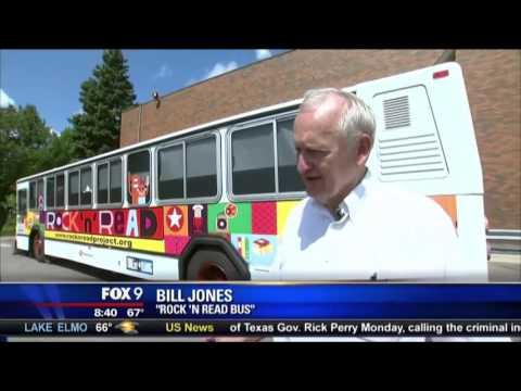Rock 'n' Read Project Bus