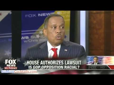 Juan Williams charges that all GOP opposition to Obama is rooted in racism