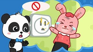 Rabbit Momo, Don't Touch the Electricity | Safety Tips for Kids | Kids Good Habits | BabyBus