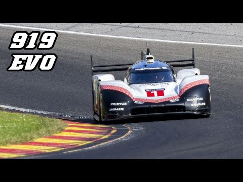 Porsche 919 Hybrid EVO - flat-out DEMO laps at Spa-Francorchamps