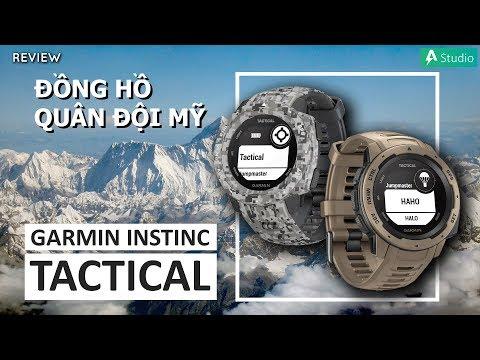 Review Garmin Instinct Tactical - Phiên bản nâng cấp có gì đặc biệt ???