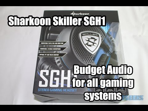 [Review] Sharkoon SGH1 : what can 25€ get you in a headset?