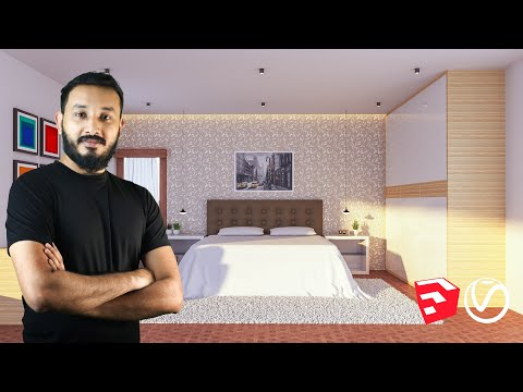 The Complete Sketchup & Vray Course for Interior Design | Sketchup 2019 | Vray Next