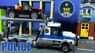 LEGO CITY POLICE Auto Transport Heist Film