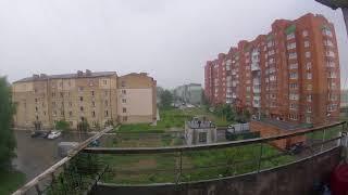 Непогода в Киеве сильный дождь грозы киев под водой