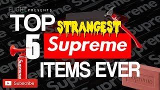 Top 5 Most Rare & Strange Supreme Items EVER Released