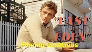 East of Eden 1955 ( FILMING LOCATION ) OPENING SCENE MENDOCINO JAMES DEAN