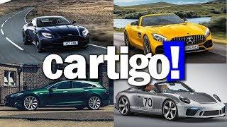 Cartigo! #43 - ASTON MARTIN, TESLA, PORSCHE E MERCEDES | ApC