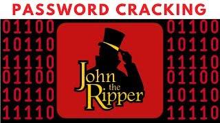 Password Cracking With John The Ripper - RAR/ZIP & Linux Passwords