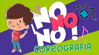 """Amy y Andy Coreografía """"No no no"""". Música cristiana. Escuela dominical."""