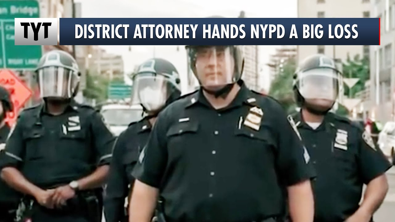 NY Won't Charge Protesters, NYPD Throws Temper Tantrum thumbnail