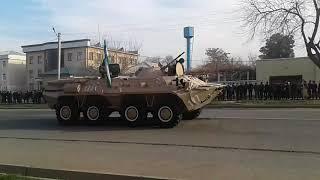 14 января Парад В Термезе