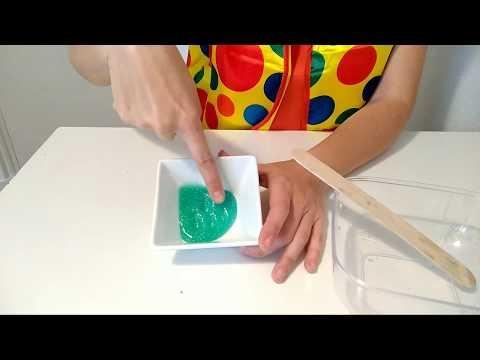Cómo hacer slime