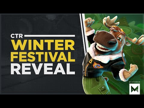 Crash Team Racing Nitro-Fueled: Winter Festival Trailer + Characters, Skins & More Revealed