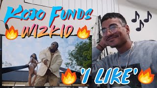 Kojo Funds   I Like Ft. WizKid (Official Video) (Jtip Reaction)