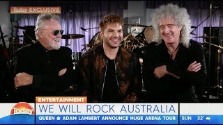 Q+AL Coming To Australia Again - The Today Show 14062017