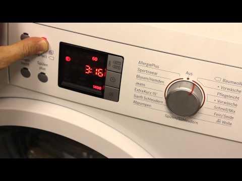Bosch Waschmaschine Ton / Töne