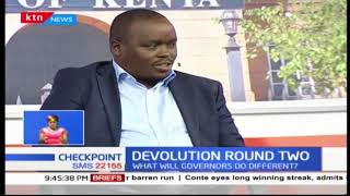 Devolution Round Two: Accountability faulted by experts part one