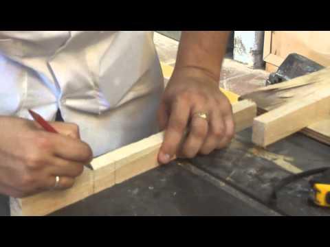 Tipos de ensamble (Ensamble media caña o media madera)