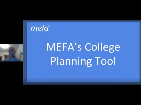 Exploring MEFA's College Planning Tool