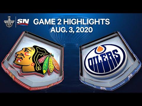 NHL Highlights | Blackhawks vs. Oilers, Game 2 – Aug. 3, 2020