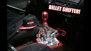 The Hatch Gets a New Billet Shifter!