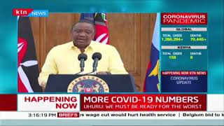 President Uhuru\'s full speech on the partial lockdown of four counties