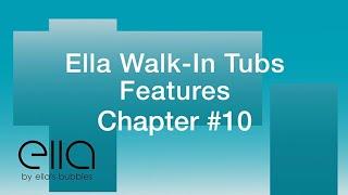 Ella Walk-in Tub Features