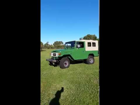 Video of '81 FJ Cruiser - LYBR
