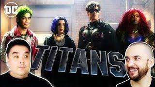 TV REVIEW: TITANS starring Brendon Thwaites & Anna Diop | DC Universe