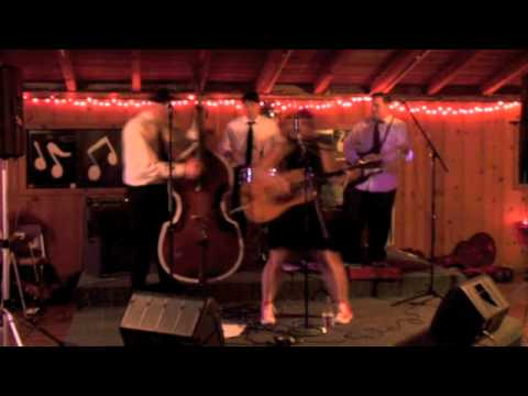 Jenny Lynn and her Real Gone Daddies perform Bang Bang