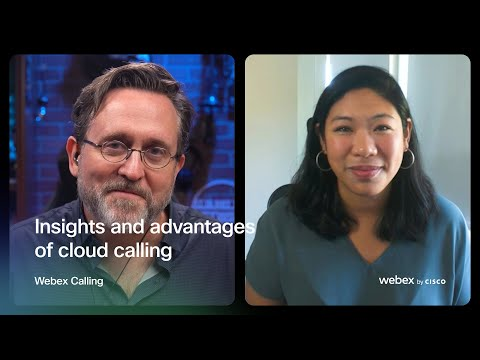 Insights and advantages of cloud calling | Webex Calling
