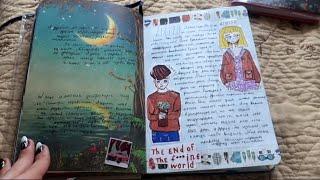 мой личный дневник #8 ЗАКОНЧЕН! полный обзор❤