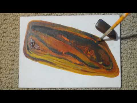 KIA THE GREEN - Tigers Eye Time Lapse Painting