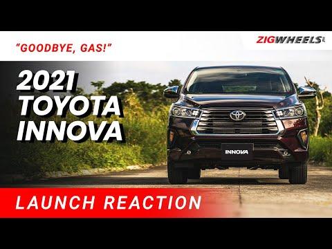 Goodbye, Gas! 2021 Toyota Innova Launch Reaction