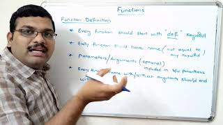 INTRODUCTION TO FUNCTIONS - PYTHON PROGRAMMING