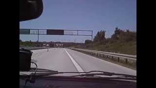 preview picture of video 'Autostrada A4 Zgorzelec'