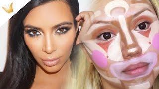 Kim Kardashian y maquillaje hangover | Tendencias raras de belleza