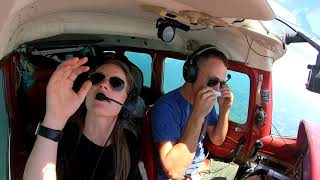 Flying the Cessna 210 to the outerbanks
