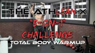 """Total Body Warmup - The Preworkout """"NO STRETCH"""" 5 On 1 Challenge! by ATHLEAN-X™"""